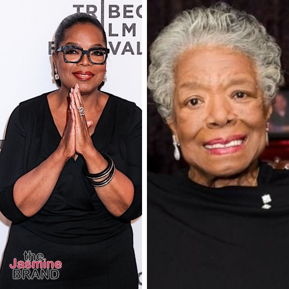 Oprah Politely Checks Fan Who Says She's Not Allowed To Call Maya Angelou By Her 1st Name