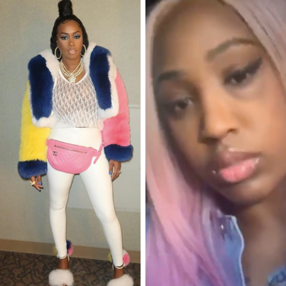 Love & Hip Hop's Brittney Taylor Accuses Remy Ma Of Giving Her A Black Eye: Why Did You Do This? [VIDEO]