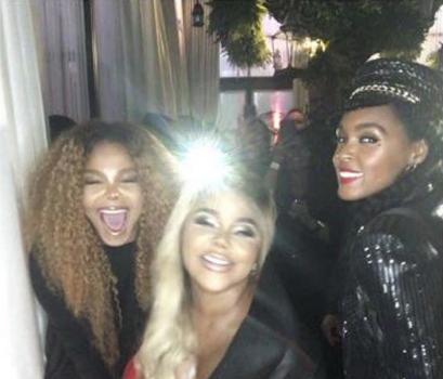 Janet Jackson Spotted W/ Lil Kim & Janelle Monae [Photos]