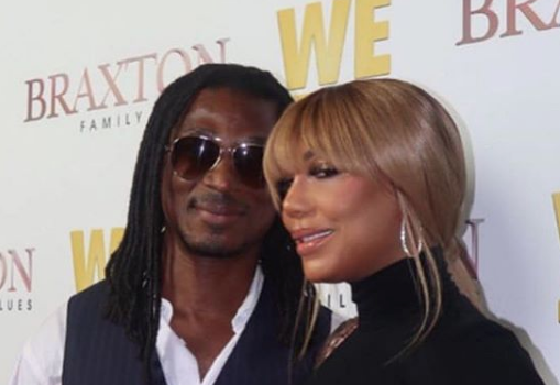 Tamar Braxton Officially Debuts Her Man [Photos]