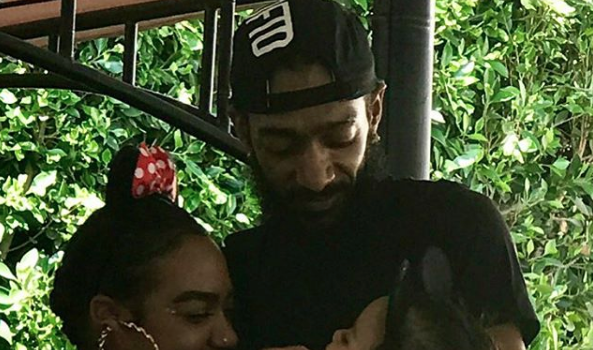 Nipsey Hussle's Sister Promises To Take Care of Lauren London & His Children: I Love You Forever