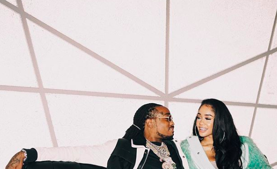 Saweetie Splurges For Quavo's Birthday, Gives Him A 1961 Impala 'Classic Car For A Classic Man Duh!'