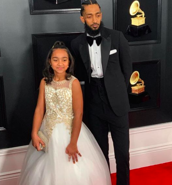 Nipsey Hussle's Daughter, Emani Asghedom, Showcases Her Singing Skills W/ Whitney Houston's 'I Will Always Love You' [WATCH]