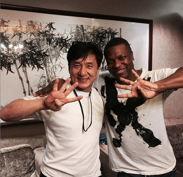 "Chris Tucker & Jackie Chan Hint At ""Rush Hour 4"""