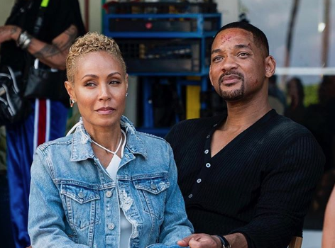Jada Pinkett-Smith Visits Will Smith On 'Bad Boys' Set [Photos]