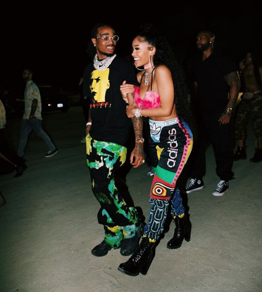 Quavo Sweetly Alludes To Wanting To Marry Girlfriend Saweetie [VIDEO]