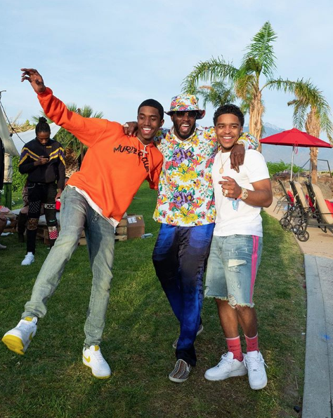 Celebs Spotted At Coachella – Idris Elba, Quavo, Karrueche Tran, Victor Cruz, Justine Skye, H.E.R.