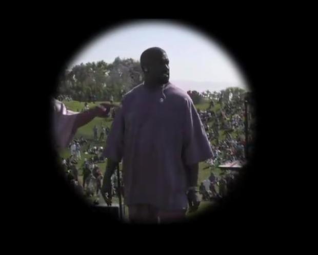 Kanye Performs At Coachella, Sells Church Inspired Merch Including Church Socks & Holy Spirit Sweatshirts [VIDEO]