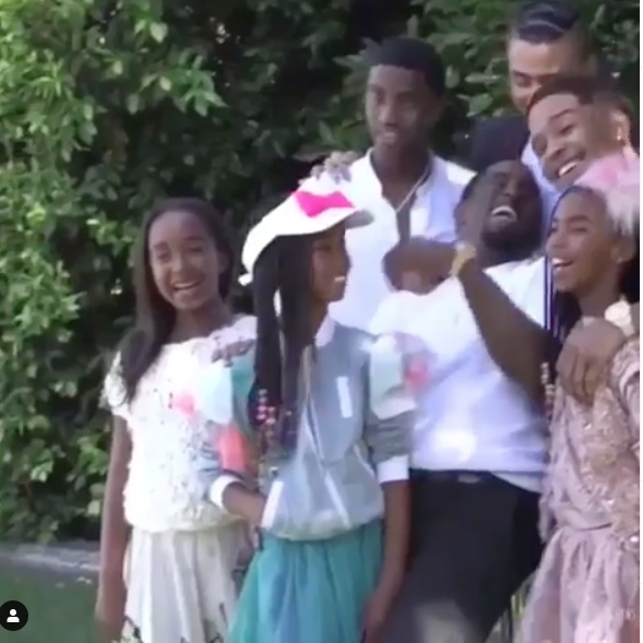 Celebrity Easter Photos: Oprah, Gabrielle Union, 50 Cent, Will Smith, Kandi Burruss, Lance Gross