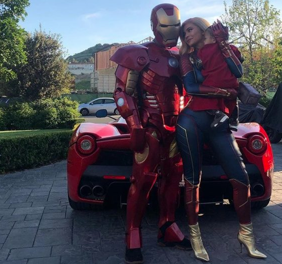 Kylie Jenner Tells Travis Scott 'Happy Birthday Husband', As They Dress Up As Avengers