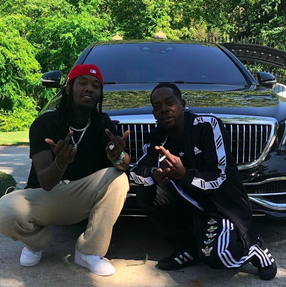 Offset Reunites W/ His Father After 23 Years [VIDEO]
