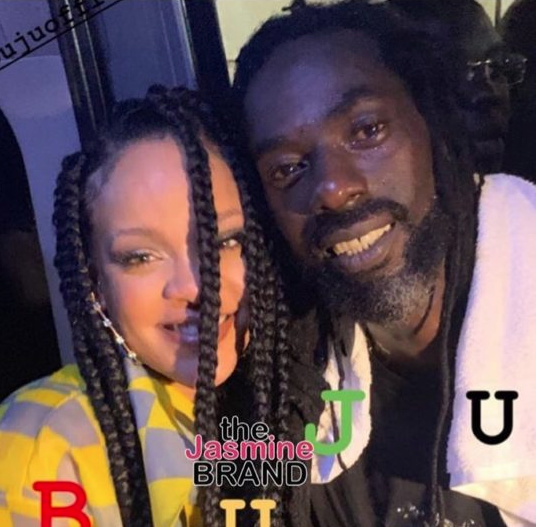 Rihanna Hangs Out W/ Buju Banton [Photos]