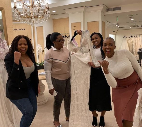 Oprah Shuts Down Saks Fifth Avenue, Buys $10k Wedding Dress For Former Student