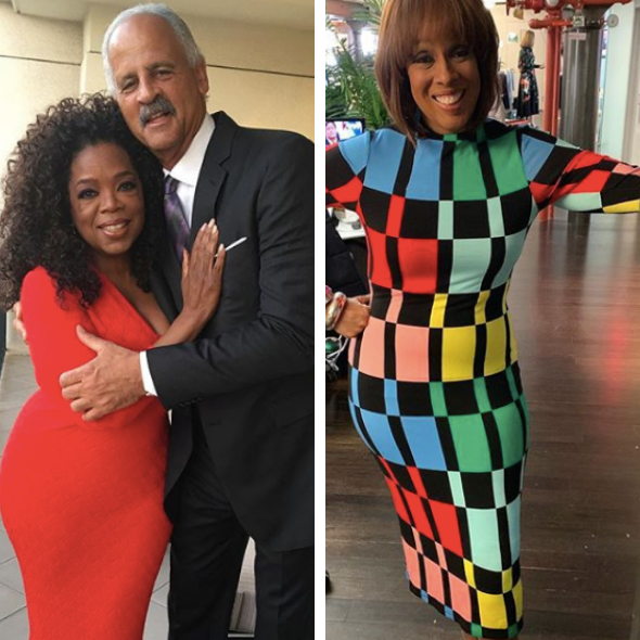 Gayle King Tells BFF Oprah What To Do If She Ever Caught Her In Bed W/ Stedman Graham