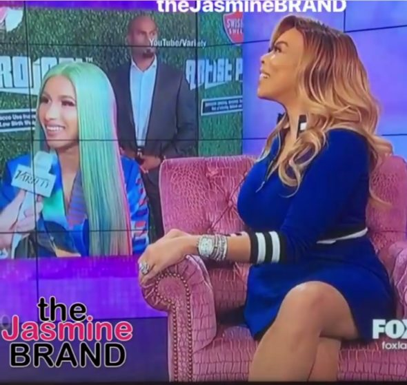Newly Single Wendy Williams Has Her Eye On Cardi B's Sexy Security Guard: I'm On The Loose! [VIDEO]