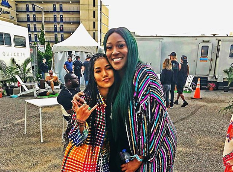 Jhene Aiko Hugs It Out W/ Coko After SWV Singer Called Her Music Sleepy