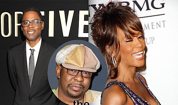 Bobby Brown Says Chris Rock Didn't Apologize For Whitney Houston Joke, But He's Not Mad Anymore