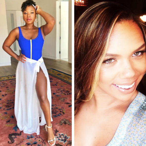 While In 3LW, Naturi Naughton Says Kiely Williams Threw Chicken At Her, Kiely Says It's A Lie [VIDEO]
