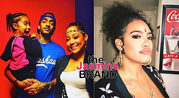 Nipsey Hussle's Daughter's Mother Says She Loves Her Kids, Amidst