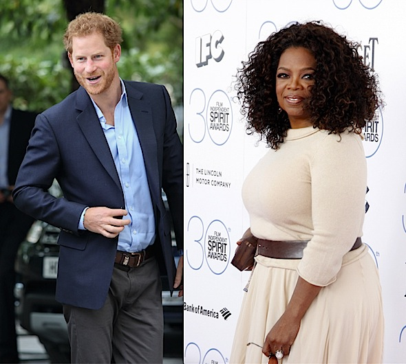 Oprah & Prince Harry Team Up For New Mental Health Series