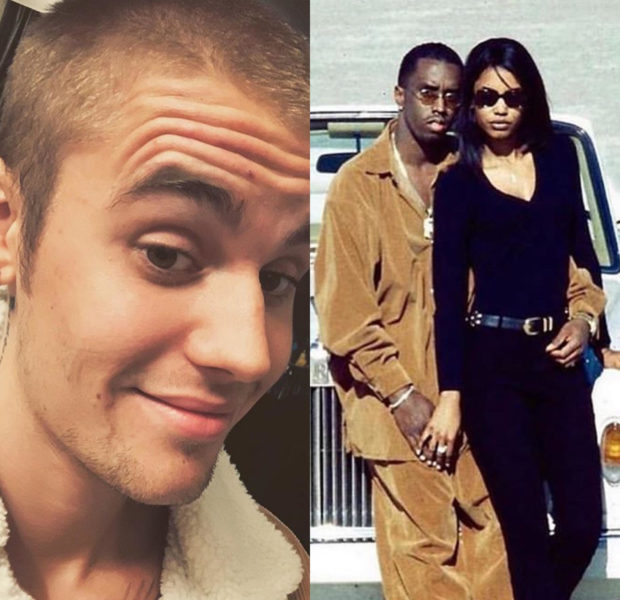 Justin Bieber Slammed For Using Photo Of Diddy & Kim Porter To Promote His Clothing Line
