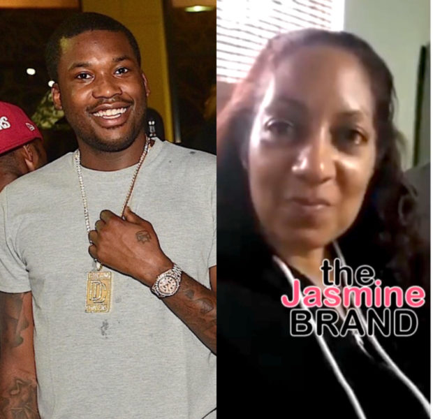 Meek Mill Encouraged by Nipsey Hussle's Mother