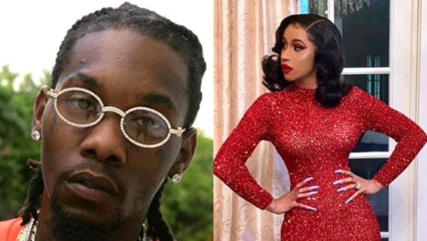 Offset Reacts To Footage Of Him Hiding His Phone From Cardi B: Don't Bring None Of That Negativity To My Family!