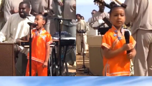 "North West Takes Over Kanye's ""Sunday Service,"" Rapper Pays Tribute To Nipsey Hussle"