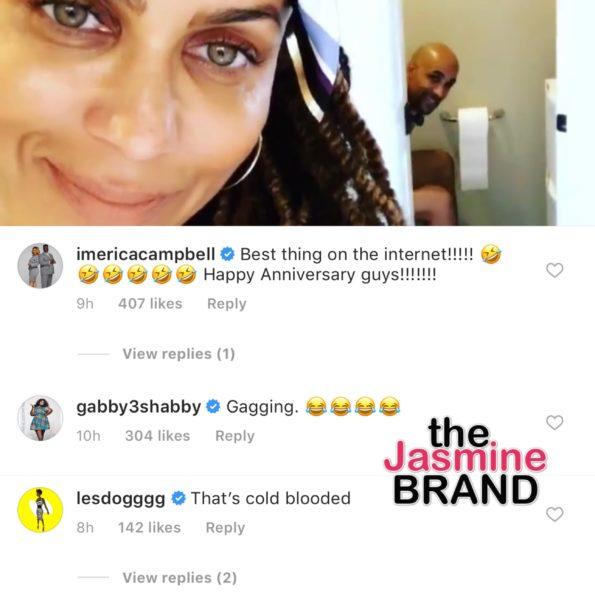 Nicole Ari Parker Hilariously Exposes Boris Kodjoe On The Toilet For