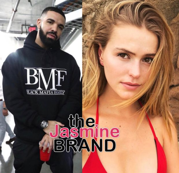 Drake – Daughter of Bucks Owner Trolls Rapper During NBA Game Wearing Pusha T Shirt, See Drizzy's Reaction