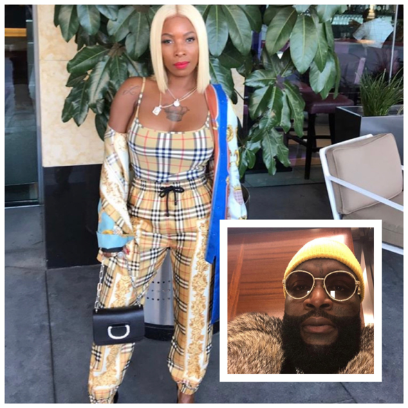 Rick Ross' Baby Mama Evicted From Store, Owes Back Rent