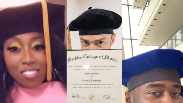 Missy Elliott, Justin Timberlake & NFL Vet Curtis Martin Receive Honorary Degrees + Michael Jackson's Son Graduates