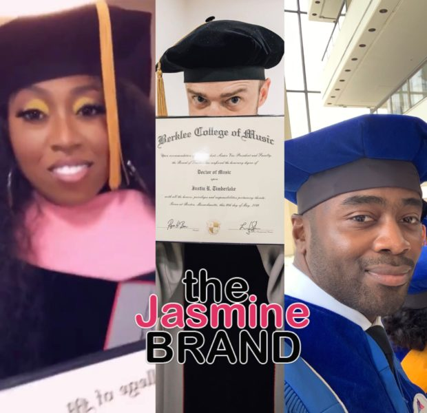 Missy Elliott, Justin Timberlake & NFL Vet Curtis Martin Receive Honorary Degrees + Michael Jackson's Son Graduates