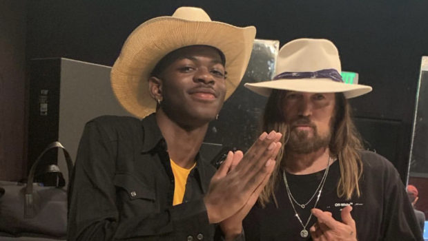 Lil Nas X Gifts Billy Ray Cyrus A Maserati [VIDEO]