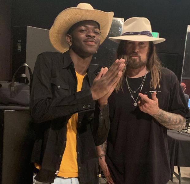 Lil Nas X Gifts Billy Ray Cyrus A Maserati [VIDEO]