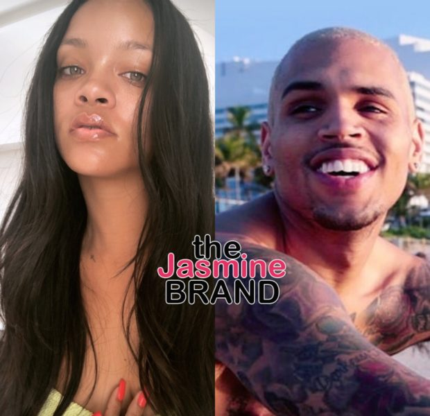 Chris Brown Reacts To Ex Rihanna's Lingerie Shoot: Break Da Internet!