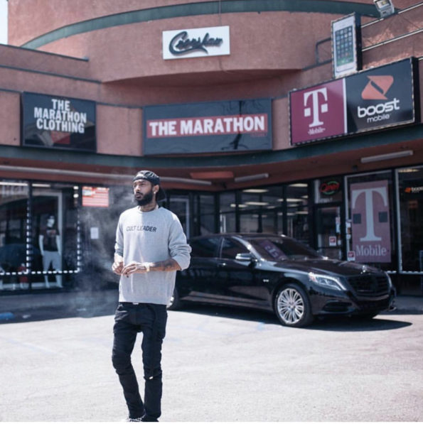 ca81302d9d Nipsey Hussle's Marathon Clothing Releases Statement – Flagship Store  Closed, Online Store Is Open: Thank You For Your Support