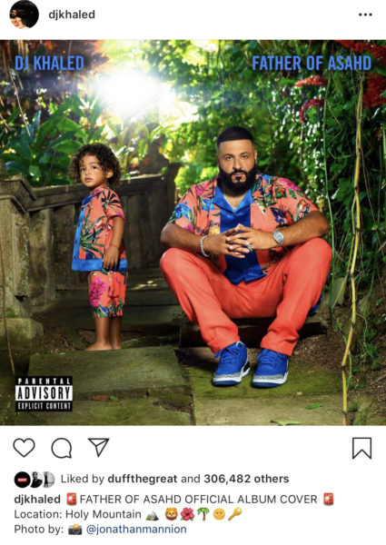 526b4fe4f7e Fellow Miami artists Rick Ross and Trina took to Khaled's comments after  revealing his album cover with his son. Even Tay Keith, producer of  Beyoncé's cover ...