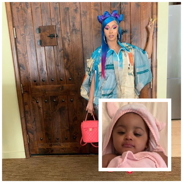 Cardi B Spends 80k On Jewelry For Daughter Kulture If I M Iced