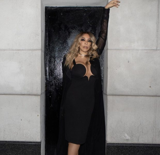 Wendy Williams Spotted Out In NYC, Rocking Revealing Black Dress [Photos]