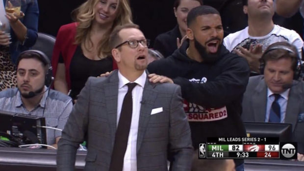 Drake's Sideline Behavior Called Into Question By Milwaukee Bucks Coach, Rapper Responds
