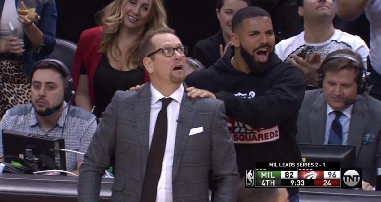Drake's Sideline Behavior Called Into Question By