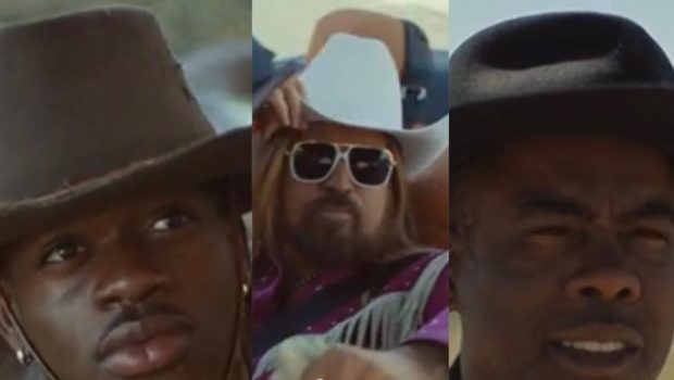 Lil' Nas X Travels To The Hood In 'Old Town Road' Video Ft. Billy Ray Cyrus & Chris Rock