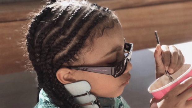 Kim Kardashian Says She Can't Keep Daughter North West Out of Her Closet