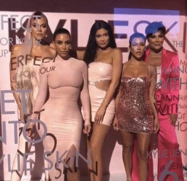 "Kylie Jenner Throws Lavish Skate Party for ""Kylie Skin"" Launch"