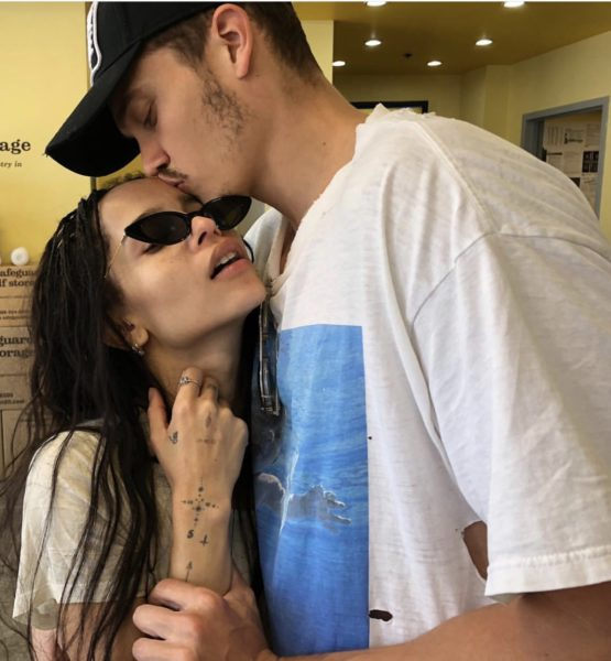 Zoe Kravitz Secretly Marries Boyfriend, Actor Karl Glusman