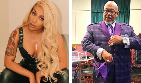 K. Michelle & Famous 'Cussing Pastor' Have An Explosive Screaming Match At Restaurant [VIDEO]