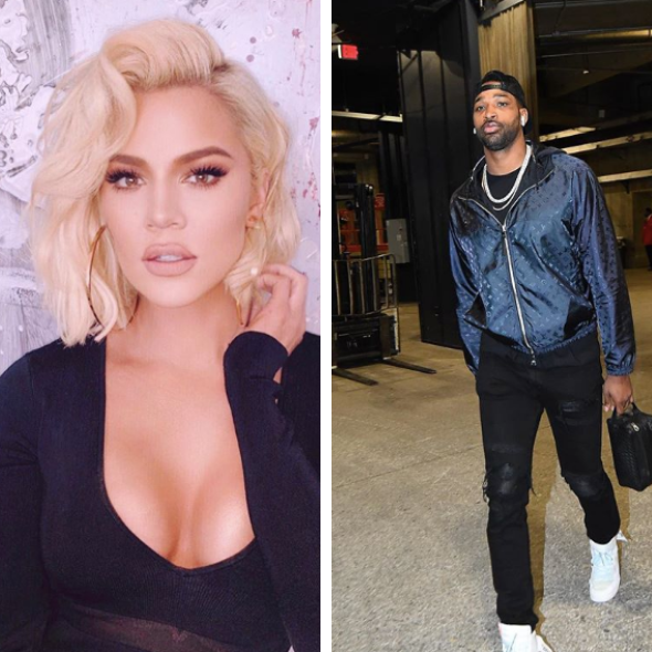 Khloe Kardashian Is 'Proud' Of Her & Tristan Thompson Co-Parenting Together [VIDEO]