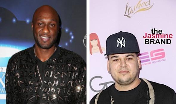 Lamar Odom Misses Ex Brother-In-Law Rob Kardashian