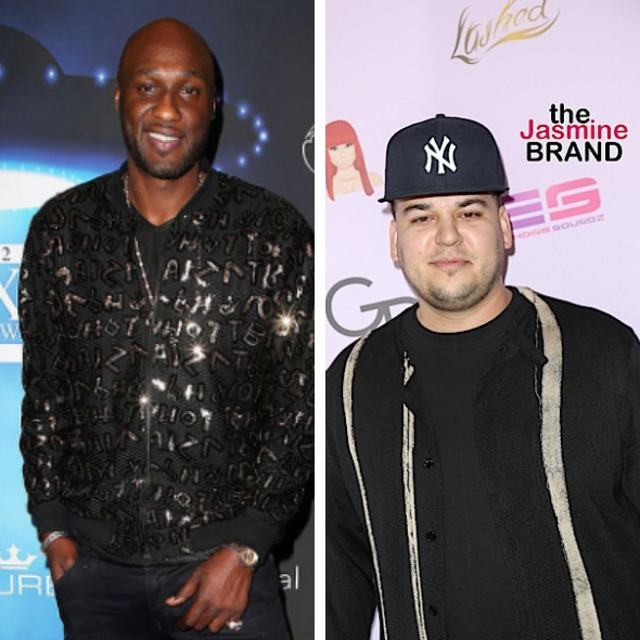 Lamar Odom Misses Ex Brother-In-Law Rob Kardashian